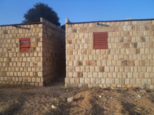2 houses have been built – each provide accommodation for 2 teachers=